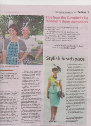 Waikato Times March 2013
