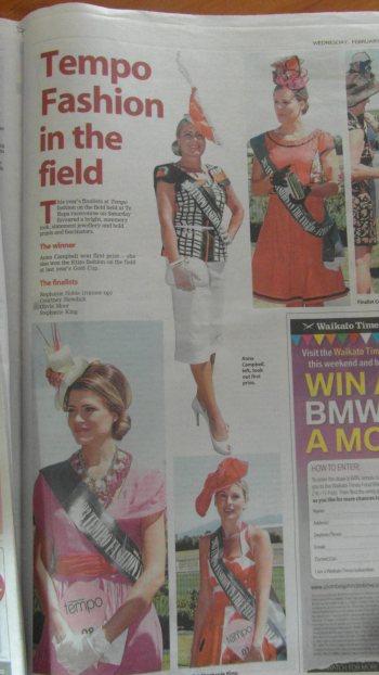 Waikato Times December 2012